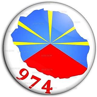 Pin Button Badge Ø38mm Drapeau Flag Occitan Occitanie