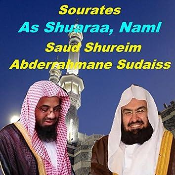 Sourates As Shuaraa, Naml (Quran)