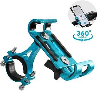comprar comparacion GuDoQi Porta Celular Universal para Moto, Soporte de Celular para Bicicleta y Moto, Aleación de Aluminio con Almohadilla d...