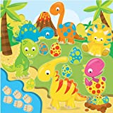 19 cm cuadrado dinosaurio mundo personalizado pastel Topper papel oblea