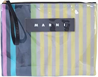 Marni Women's PHMO0003Q0P2740STC37 Multicolor Pvc Clutch