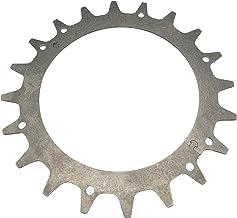 ERGO Tractieverbetering, roestvrij staal, 2 mm dik, tweedelig, eenvoudige montage, geschikt voor Worx Landroid modellen S/...