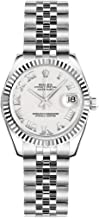 Rolex Lady-Datejust 26 179174 White Dial with Roman Numerals
