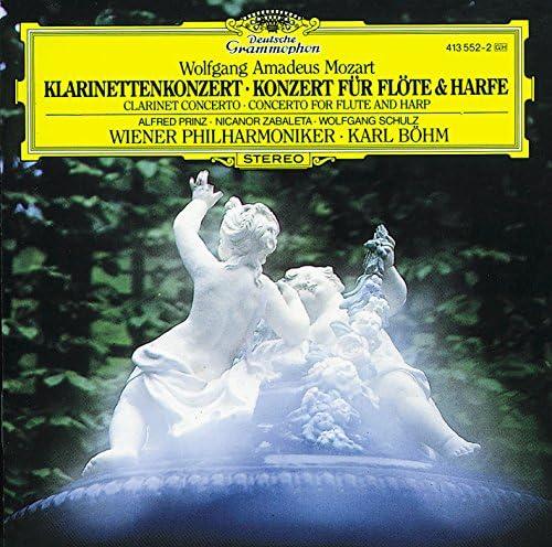 Alfred Prinz, Wolfgang Schulz, Nicanor Zabaleta, Wiener Philharmoniker, Karl Böhm & Wolfgang Amadeus Mozart