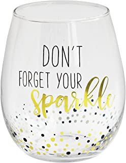 Crystal Clear Stemless Wine Glass – Elegant Lead-free Matching Drinkware Perfect For Everyday Use Or Entertaining – Stylish Modern Glasses Make An Ideal Gift For Weddings, Birthdays, Holidays 18.3oz