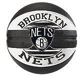 Spalding NBA Team Brooklyn Nets 83-588Z Balón de Baloncesto, Unisex, 7