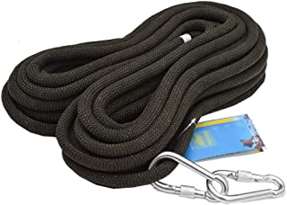 MEI XU Climbing Rope Black Outdoor Sports Equipment Safety Rope 12mm Speed Drop Rope Static Rope Aerial Work Safety Rope, ...