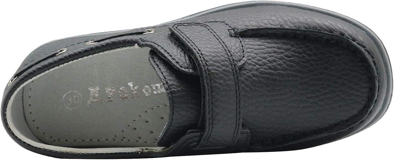Zapatos de Fiesta de Bodas de la Escuela Cl/ásica Apakowa Ni/ños Calzado Casual Elegante para Ni/ños Mocasines planos