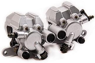 ATV Front Rear Brake Disc Rotors Pads for Honda TRX400EX Sportrax 400 2x4 99-08