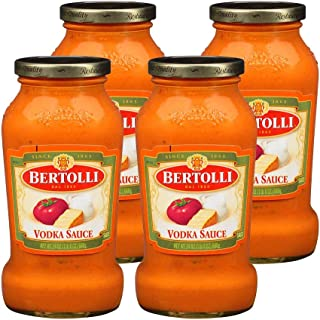 Bertolli Vodka Sauce, 24 Ounce Jar - Pack of 4