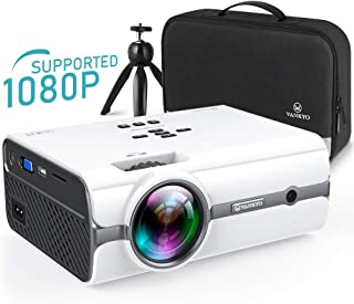 VANKYO Leisure 410 [2020 Upgrade] Mini Projector with 1080P Supported, Portable Projector with iOS/Android Connection, TV Stick, HDMI,PS4,VGA,USB for Home Entertainment & Outdoor Activities