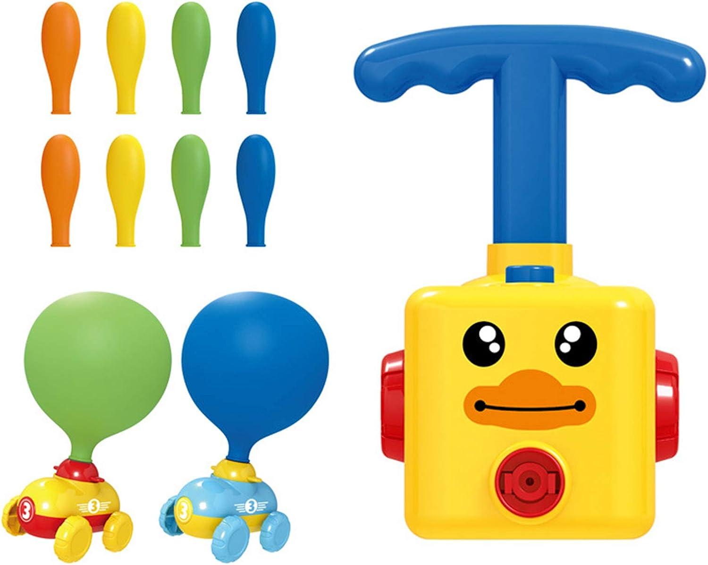 Press online shopping Max 47% OFF Aerodynamic Balloon Car Practical B Learning Toys Inertial