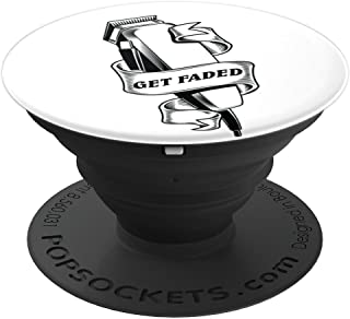 Get faded master Barber Clippers - PopSockets Grip and Stand for Phones and Tablets