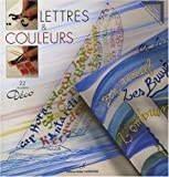 Lettres & couleurs (French Edition)