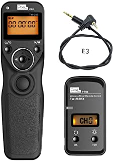 Wireless Shutter Release Wired Timer Remote Control for Canon POWERSHOT G10 G11 G15 EOS 1200D 800D 650D 300D 80D 70D PENTAX:K-7 K10 K200 CONTAX: 645 N1 NX Samsung:GX-1S NX11 Olympus:E-M1
