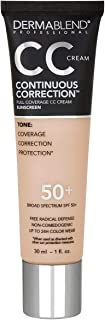 Dermablend Continuous Correction CC Cream, Shade: 20N, 1 fl. oz.