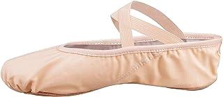 Skyrocket Flying Filles Femme Demi Pointe Toile Chaussures de Ballet EU25~44 Doux Chaussons de Danse pour Gym Yoga Danse
