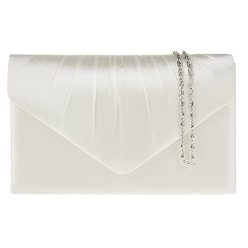 7000dbd615a0 fi9® LADIES SATIN PARTY PROM BRIDAL EVENING CLUTCH HAND BAG PURSE HANDBAG