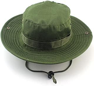 YOYEAH Fishing Hunting Boating Cap Sun Hat Bucket Hats Adjustable Drawstring