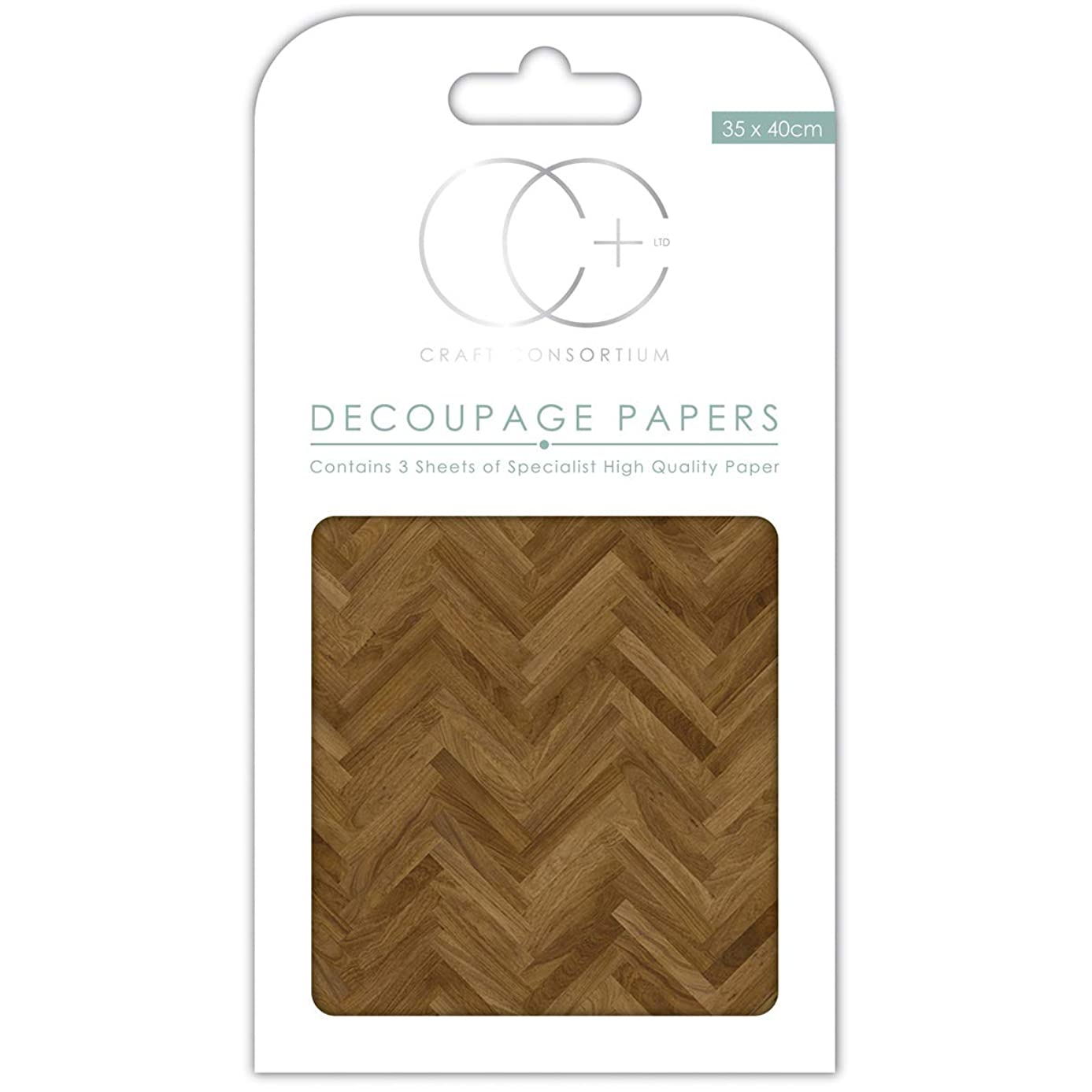 Craft Consortium DECP086 Decoupage Papers 13.75