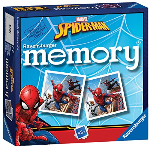 Ravensburger Marvel Spider-Man Mini Memory Game