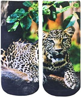 Living Royal, Calcetines tobilleros de leopardo