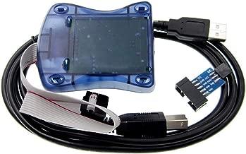 WINGONEER Compatible Atmel at AVR ISP MK2 MK ATMEL AVR Programmer USB AVRISP XP in-System Programmer Supports AVR Studio 4 5 6 7
