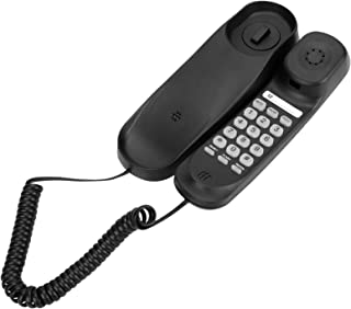 Uvital Hotel Wall Mountable Telephone, Fashion & Simplicity, Clear Call, No Need Battery, One Key Redial, Flash, Mute, Pau...