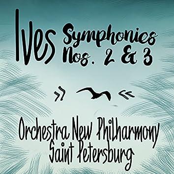 Ives: Symphonies Nos. 2 & 3