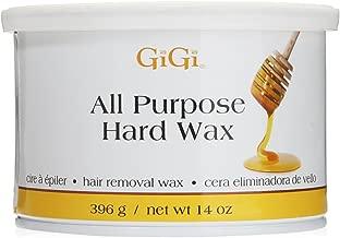 Gigi All Purpose Hard Wax Honey  Hair Removal Wax 396 g / net Wt 14 oz
