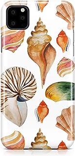 Loud Universe Phone Case For iPhone 11 Beach Phone Case Sea Shell Phone Case Orange