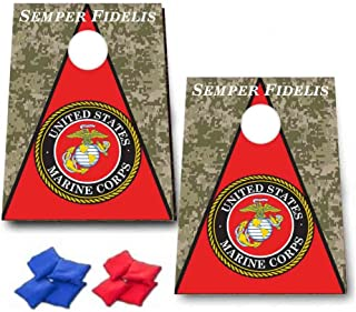 VictoryStore Cornhole Games - Marine Corps