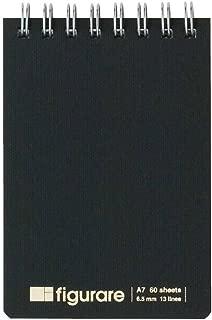 アピカ A7リングメモ MER105KN フィグラーレ 黒