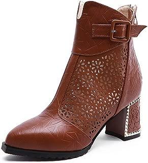 BalaMasa Womens Ruffles Solid Boots Urethane Boots ABM13630
