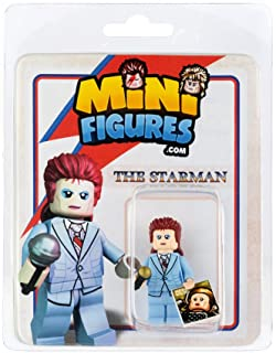 Custom Design Minifigure - David Bowie The Star Man - Collectable Toy Figurine for Kids, Men and Women | Music