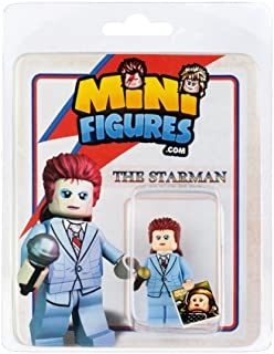 Custom Design Minifigure - David Bowie The Star Man - Collectable Toy Figurine for Kids, Men and Women   Music