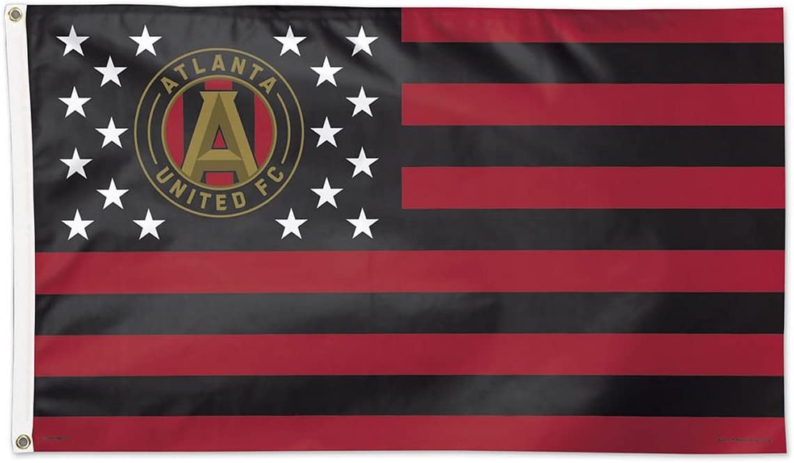 WinCraft Soccer Atlanta FC 15200115 Boston Mall Flag 3' 5' Long Beach Mall Deluxe x