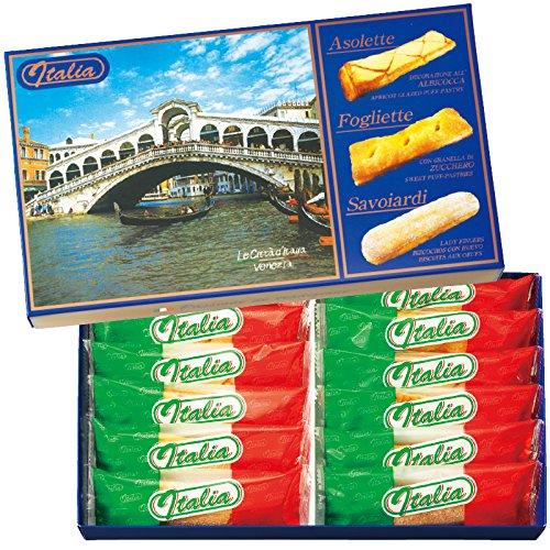 イタリア 土産 ペイストリーパフ&クッキー 1箱 (海外旅行 イタリア お土産)