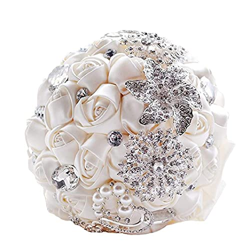 Jewelry & Watches Lovely Diamante Brooches Pack Of 6 Wedding Bridal Bouquet Decoration Jewellery Pins & Brooches