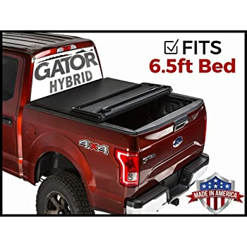 Amazon Com Gator Hybrid Hard Folding Fits 2007 2013 Toyota Tundra 6 5 Ft Bed W Rail System Only Hard W Soft Looks Tonneau Truck Bed Cover Ghf0730 Made In The Usa Automotive