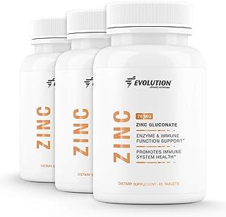 Sponsored Ad - Evolution Advance Sport Nutrition Vegan Zinc Gluconate Tablets Enzyme Immune Function and Immune System Sup...