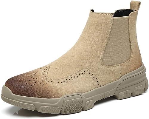 JINHAIXUE Bottes pour Hommes, Chaussures Basses Thermiques de Palterform