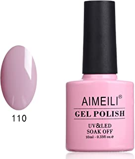 AIMEILI Gel Nail Polish Soak Off UV LED Gel Varnish - Prunus Persica (110) 10ml