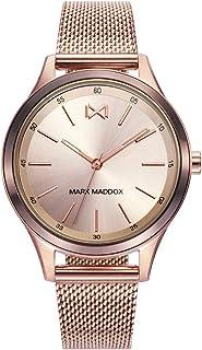 MM7110-97 Reloj de Mujer Cuarzo Acero IP Rosé Malla Milanesa Tamaño 36 mm