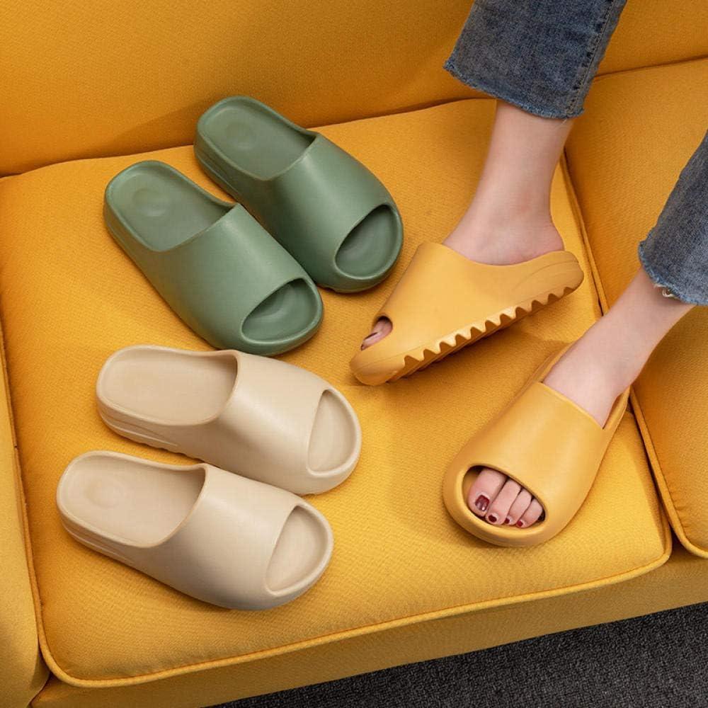 Unisex Couples Slide Sandal Summer Slippers Non-slip Soft EVA Pool Slides House Shoes Fish Mouth Sawtooth Net Red for Mens Womens Teenager
