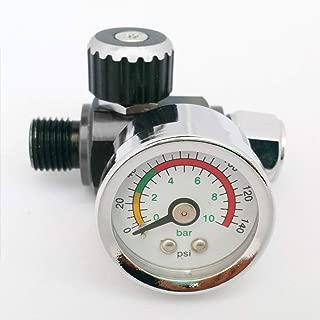 MASO AR01 Pistola de pulverización regulador de presión de aire Pistolas de pintura Manómetro