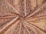 TheFabricFactory Brokat-Stoff, rosafarben, rosa,
