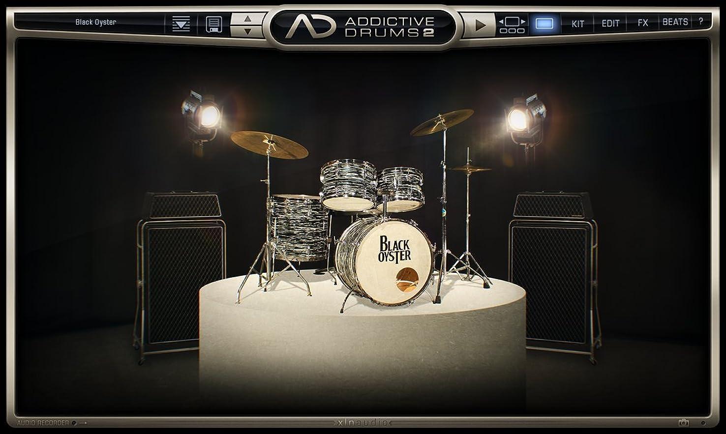 正しく滑り台促すXLN Audio Black Oyster  Addictive Drums 2専用拡張音源