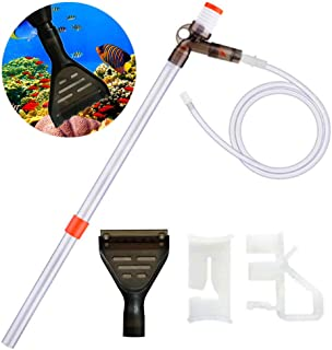 Aquarium Gravel Cleaner Normei Fish Tank Cleaner Kit Vacuum Water Changer Sand Washer with 31.5