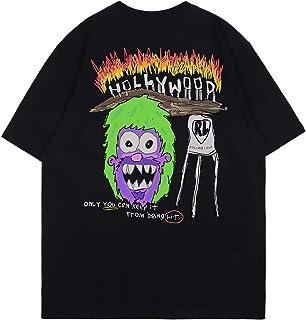 Arnodefrance Rolling Loud LA Music Festival Tshirt Hip Hop Graffiti Printing Teeshirt Cotton Short Sleeve Shirt